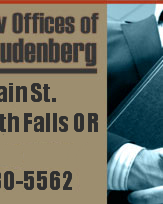 Phil Studenberg P.C. : Southern Oregon Attorney for Criminal Defense and SSDI Claims.